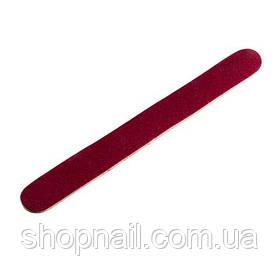Одноразовая пилочка, красная, 17 см (180/240)