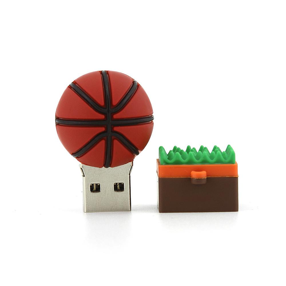 """Флешка-игрушка """"Баскетбольный мяч"""", 16 Гб"""