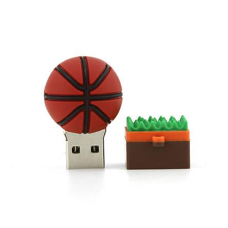 """Флешка-игрушка """"Баскетбольный мяч"""", 16 Гб, фото 2"""