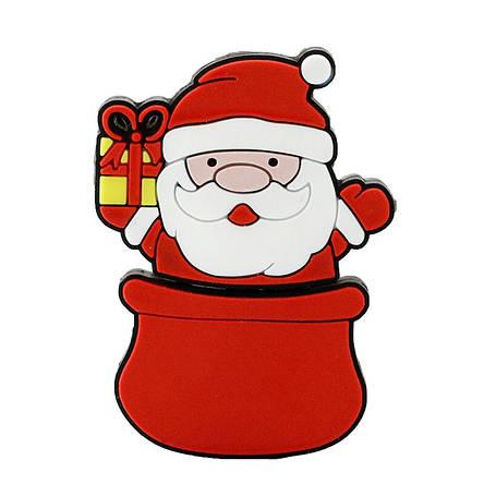 """Флешка """"Санта Клаус, Дед Мороз"""" 16 Гб, фото 2"""