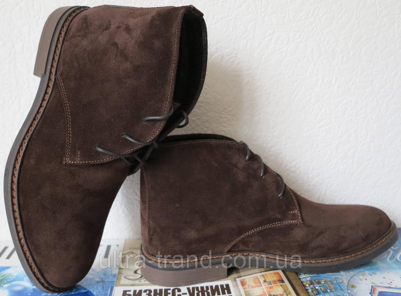 Clarks Men Desert Boot мужские кожаные замшевые ботинки реплика дезерты весна 2019