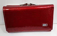 Кошелек женский кожаный Balisa B825-41 красный малый с монетницей на защелке снаружи 13см * 8 см