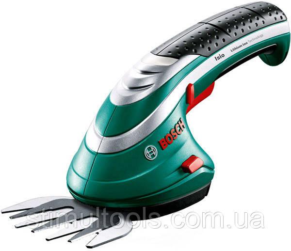 Ножницы аккумуляторные для травы Bosch Isio 3