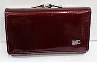 Кошелек бордовый женский кожаный маленький с монетницей снаружи 13 * 8 см Balisa B825-42, фото 1