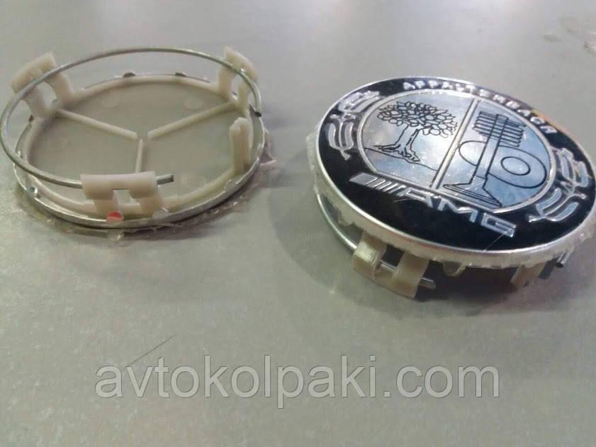Ковпачки для литих дисків AMG