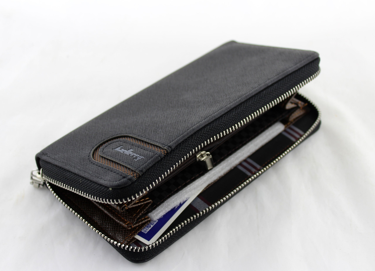 Портмоне-клатч кошелёк Baellerry S1514 черный