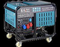 Дизельный генератор Könner & Söhnen KS 14100HDE 1/3 ATSR, фото 1