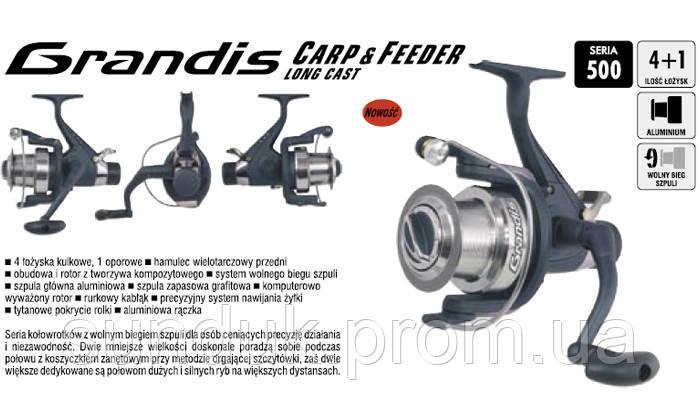 Рыболовная катушка Konger Grandis Carp&Feeder Long Cast 530