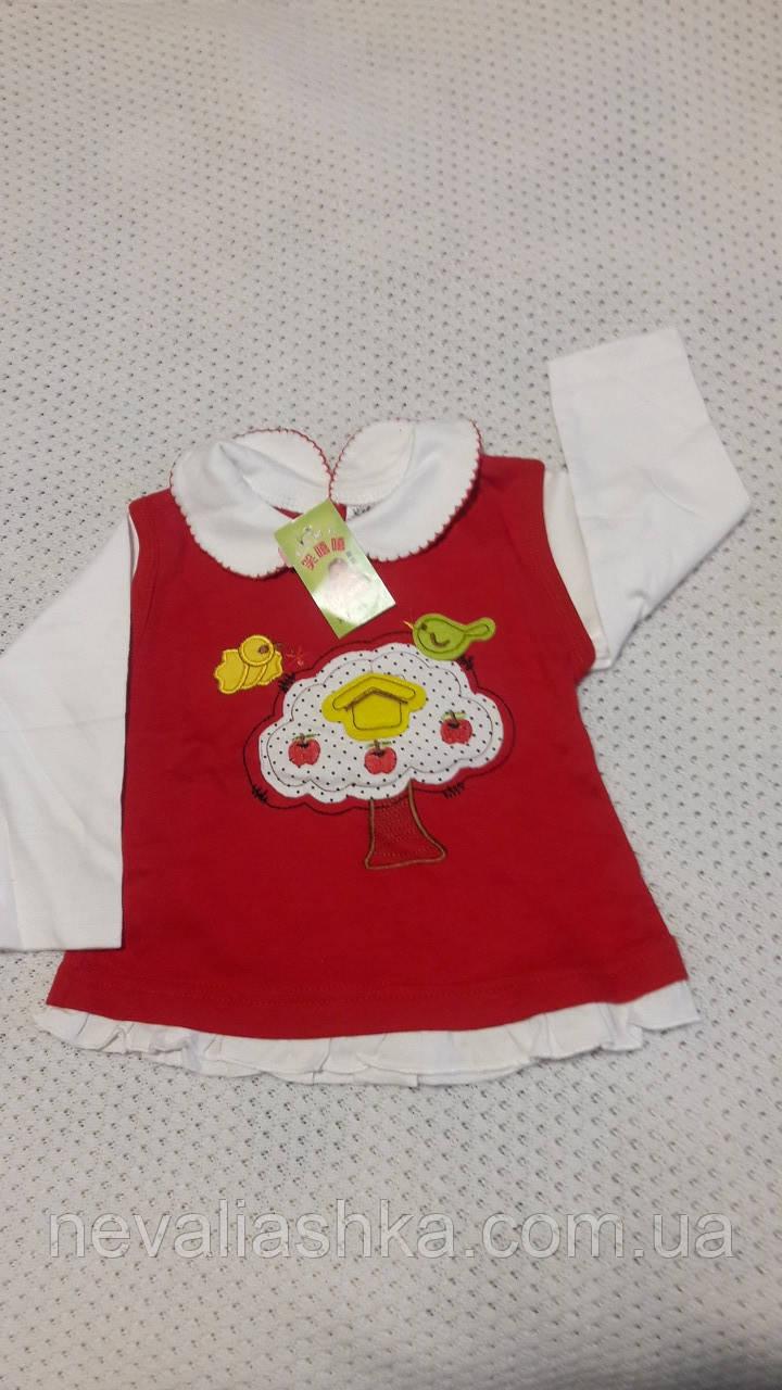 Плаття-туніка для малюка раз 9-12 -18 міс. Китай
