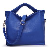 d7af2ac46897 Синяя кожаная сумка А4 входит с плечевым ремнем, копия мирового бренда Dudu  Bags