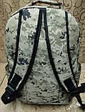 Рюкзак камуфляж пиксельный найк, фото 3