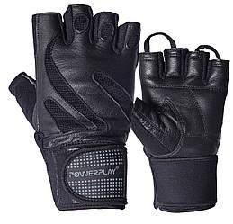 Перчатки для фитнеса PowerPlay 1064 черные L