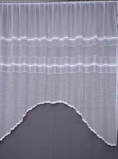 Купити тюль арку 3,3 х 1,9 колір білий/молочний (ШхВ)(Підходить на карниз 2 - 2,5 м.)