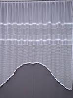 Купити тюль арку 3,3 х 1,9 колір білий/молочний (ШхВ)(Підходить на карниз 2 - 2,5 м.), фото 1