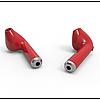 AirPods i7s case apple TWS копия, гарнитура Bluetooth headset стерео наушники, красные, фото 5