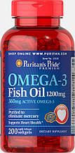 Puritan's PrideOmega-3 Fish Oil 1200 mg 200 softgels