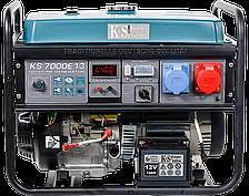 Генератор бензиновий Konner&Sohnen KS 7000E-1/3 (1 или 3ф, 5,5 кВт)