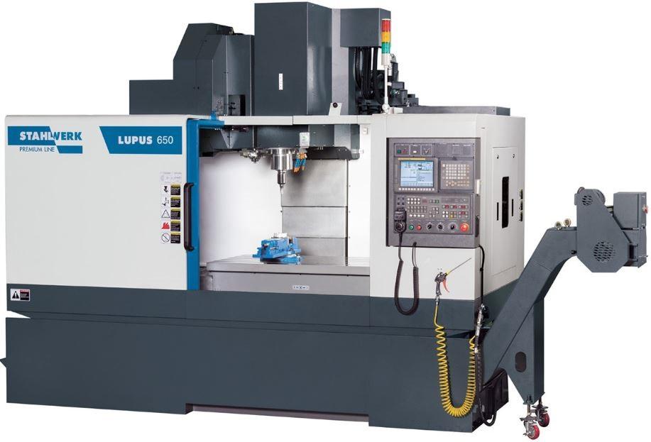 LUPUS 650 Токарный обрабатывающий центр премиум класса с мощным ЧПУ Fanuc