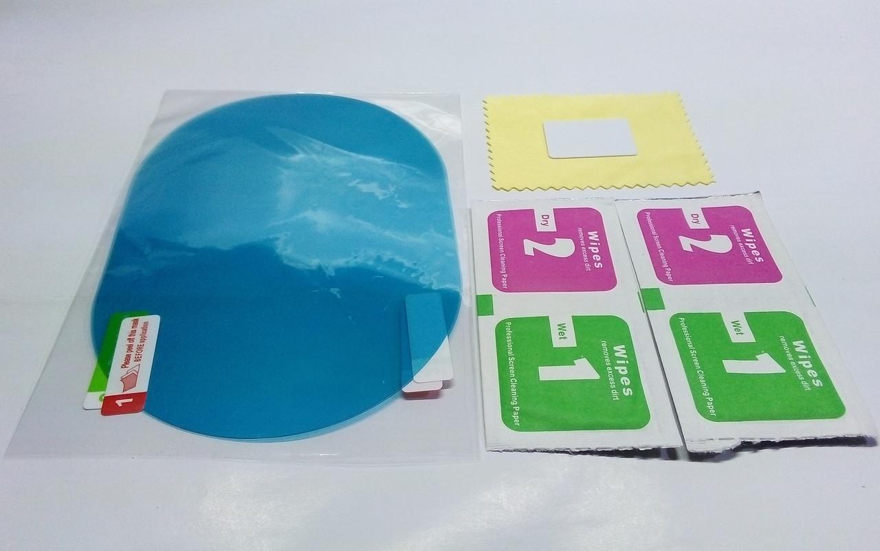 Антидождь защитная нано пленка для зеркал авто на стекла 145*100мм (пара)
