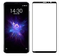 Захисне скло 3D 9H для Смартфона телефону Meizu Note 8 з рамкою, Захисне скло