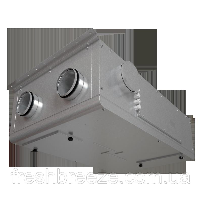 Приточно-вытяжная установка с рекуперацией тепла Вентс ВУТР 250 П2Э ЕС А17