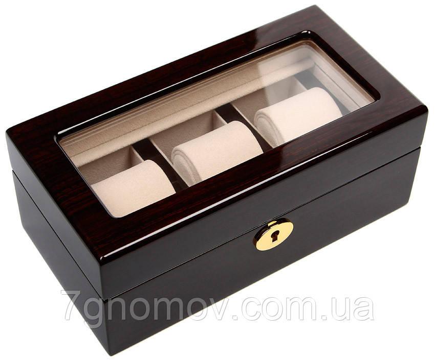 Шкатулка для хранения 3-х часов Rothenschild RS-WB-3085-BUC