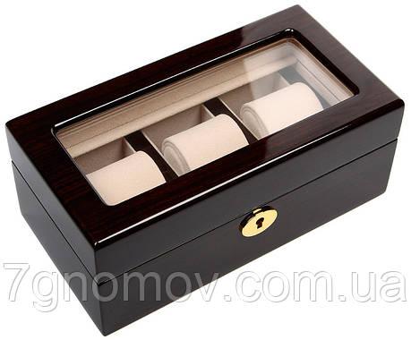 Шкатулка для хранения 3-х часов Rothenschild RS-WB-3085-BUC, фото 2