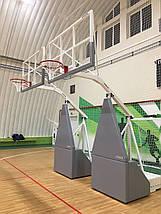 Баскетбольная стойка мобильная складная, фото 3