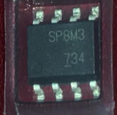 Микросхема (MOSFET) SP8M3 SOP8, фото 2