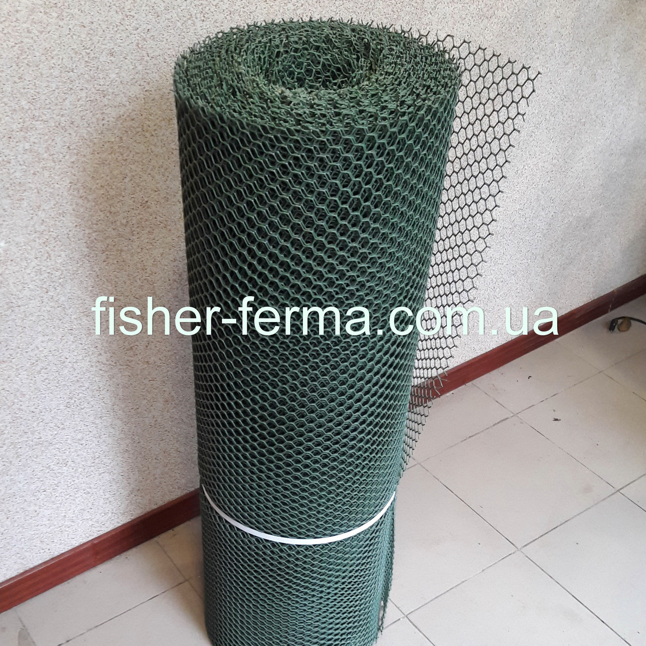 Сетка пластиковая 12х15х2,2мм  (1,5х30 метров)