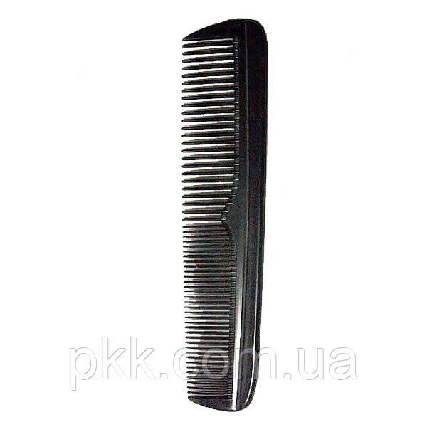 Гребень для волос DAGG мужской карманный чёрный 1607
