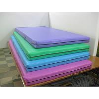 Маты спортивные гимнастические цветные 1х2 м, фото 1