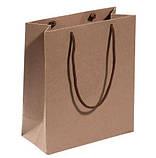 Широкие мужские подтяжки Paolo Udini черно-коричневые, фото 5