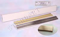 Накладки на пороги Fiat LINEA 2007- / Фиат Линеа standart Nataniko, фото 1