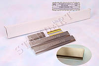 Накладки на пороги Ford FUSION 2002- / Форд Фужин standart Nataniko, фото 1