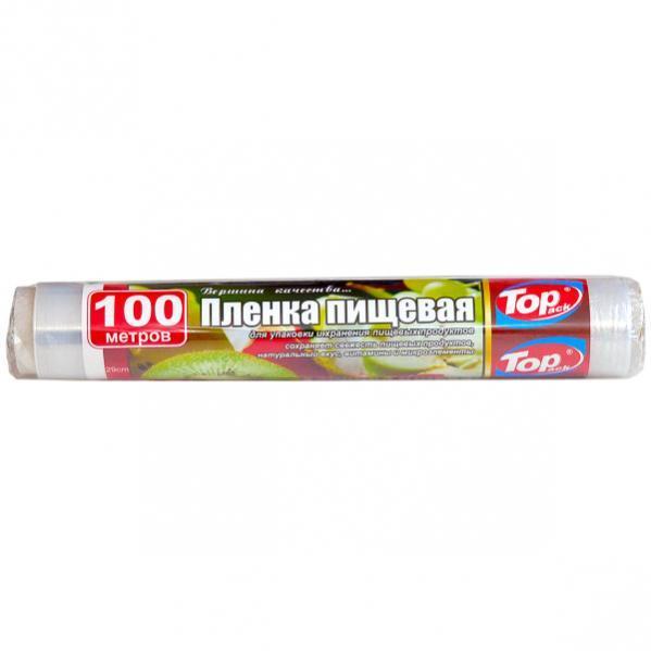 Пленка пищевая 29 см 100 м 7 мкм (POL) Top Pack  TP29см/100м