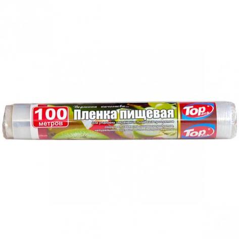 Пленка пищевая 29 см 100 м 7 мкм (POL) Top Pack  TP29см/100м, фото 2