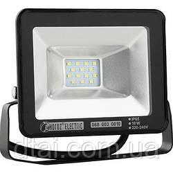 Прожектор светодиодный 10W 6400K (холодный белый) Прожектор Led HOROZ