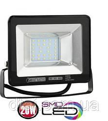 Прожектор светодиодный 20W. Led  прожектор 20W HOROZ 6400K (холодный белый)