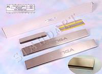 Накладки на пороги Kia VENGA 2010- / Киа Венга standart Nataniko, фото 1