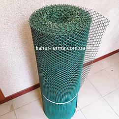 20х20х2мм - пластиковая сетка  (0,5х30 метров) - для ограждений