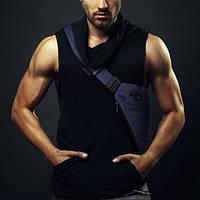 Мужская сумка через плече мессенджер Cross Body blue, фото 1