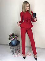 Женский стильный костюм  НД333 (норма), фото 1