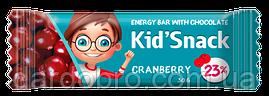 "Енергетичний батончик ""Kid Snack"" Журавлина, 30 гр"