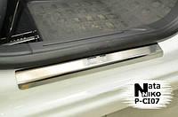 Накладки на пороги Citroen C3 II 2010- / Ситроен C3 premium Nataniko, фото 1