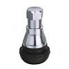 Вентиль хромований легковий безкамерний мопедный TR-412C (Baolong)