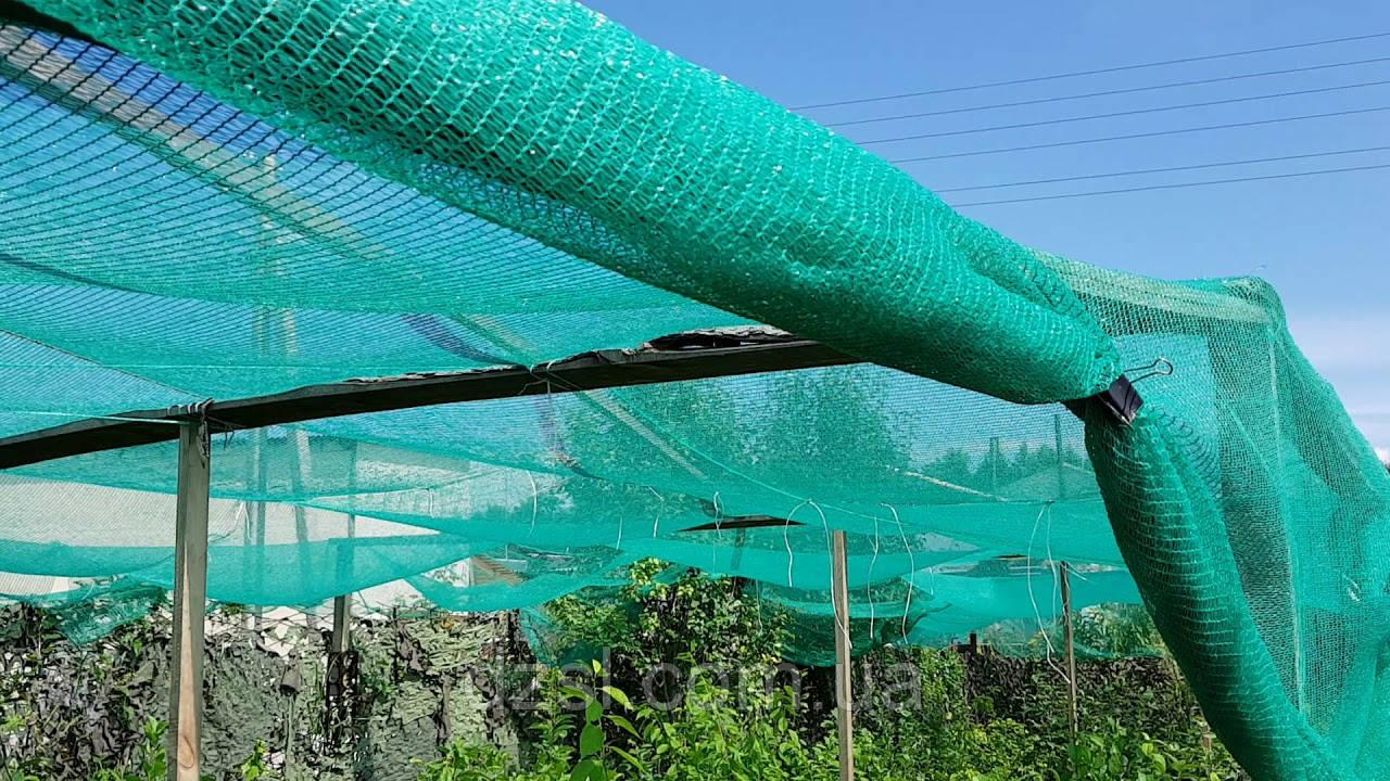 Защитная сетка для лесов. Затенение 50%