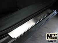 Накладки на пороги Mazda CX-9 2007- / Мазда CX-9 premium Nataniko, фото 1
