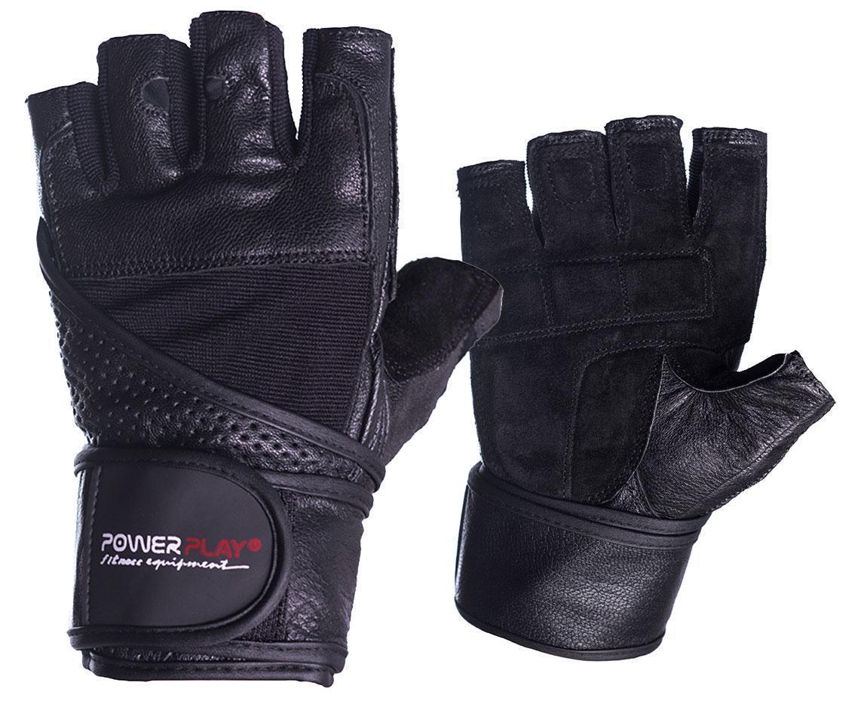 Рукавички для фітнесу PowerPlay 2042 Чорні M