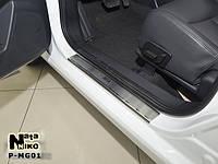 Накладки на пороги MG 350 2012- / МГ 350 premium Nataniko, фото 1